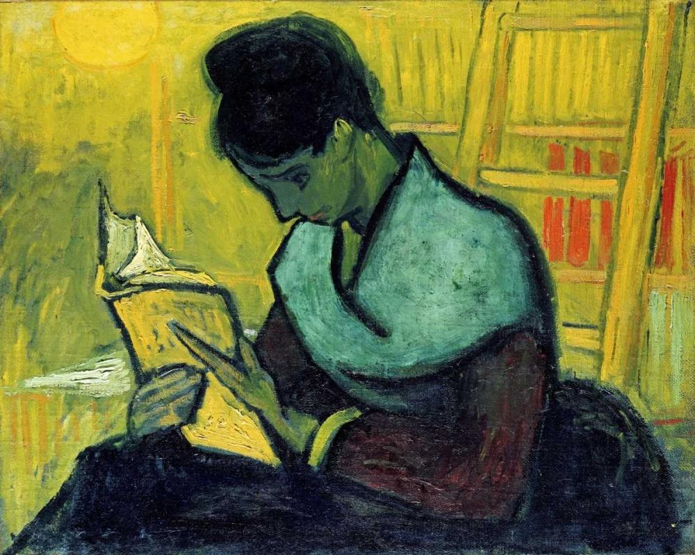 konfigurieren des Kunstdrucks in Wunschgröße A Novel Reader von Van Gogh, Vincent
