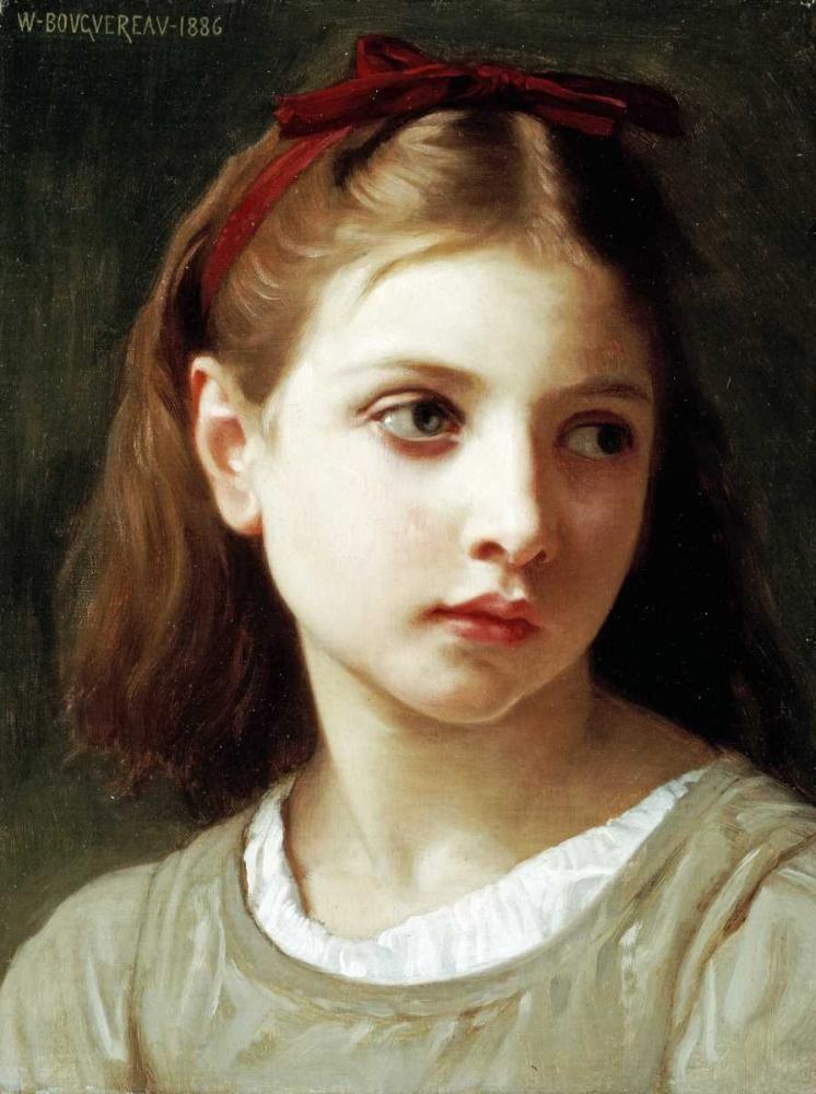 konfigurieren des Kunstdrucks in Wunschgröße Une Petite Fille von Bouguereau, William-Adolphe