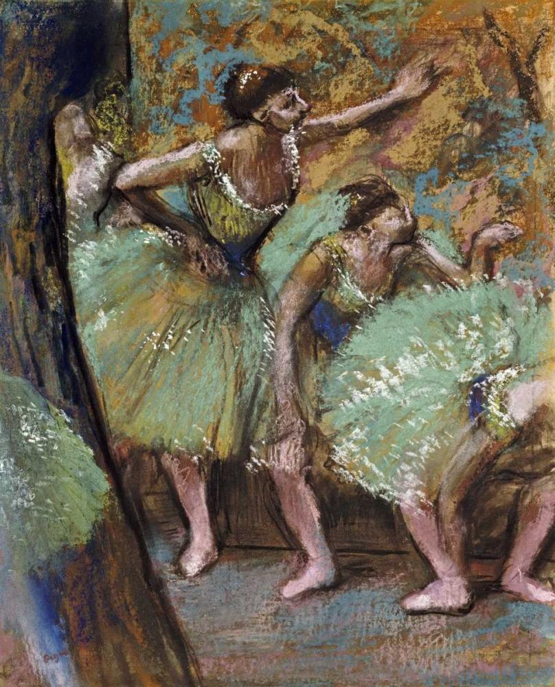 konfigurieren des Kunstdrucks in Wunschgröße Danseuses von Degas, Edgar