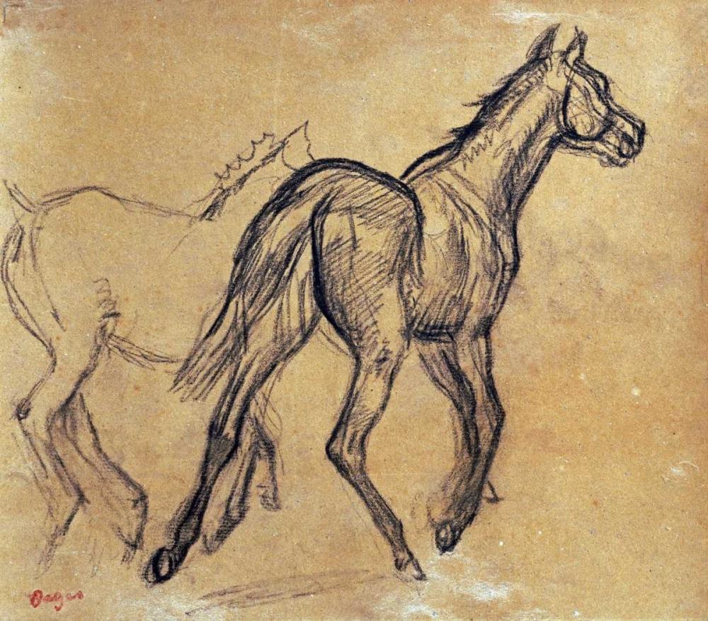 Horses von Degas, Edgar <br> max. 86 x 76cm <br> Preis: ab 10€