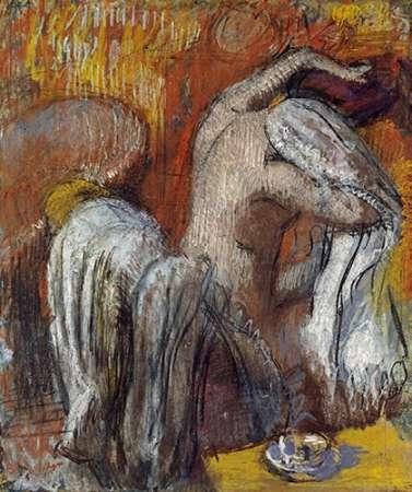 konfigurieren des Kunstdrucks in Wunschgröße Woman Drying Herself von Degas, Edgar