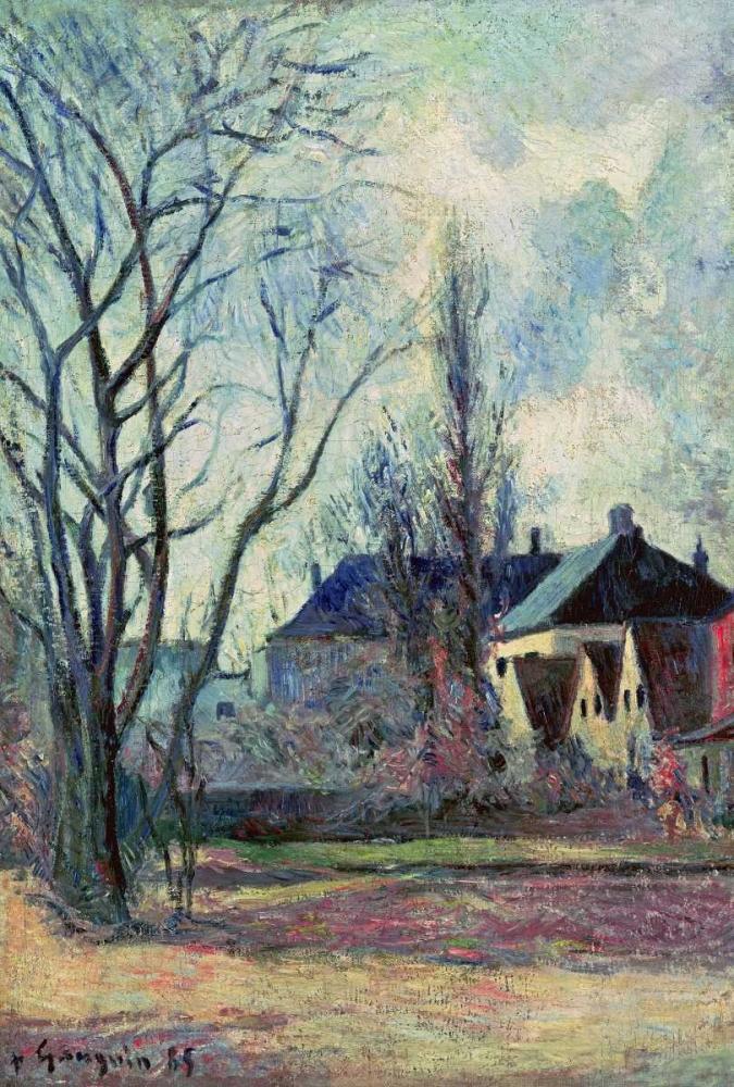 Winter Landscape at Copenhagen von Gauguin, Paul <br> max. 74 x 112cm <br> Preis: ab 10€