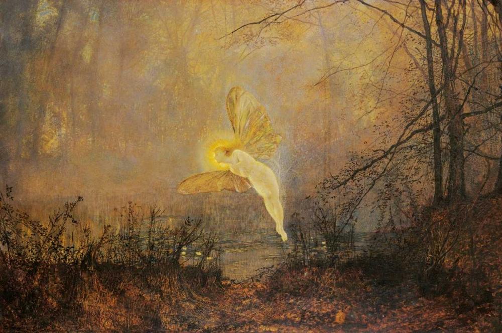 Midsummer Night von Grimshaw, John Atkinson <br> max. 97 x 64cm <br> Preis: ab 10€