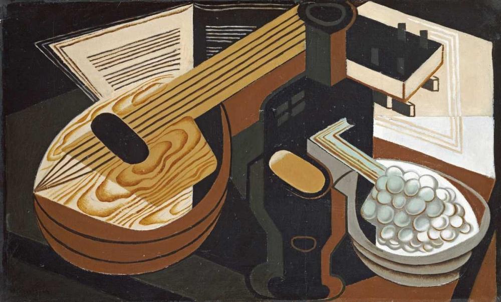 konfigurieren des Kunstdrucks in Wunschgröße The Mandolin von Gris, Juan