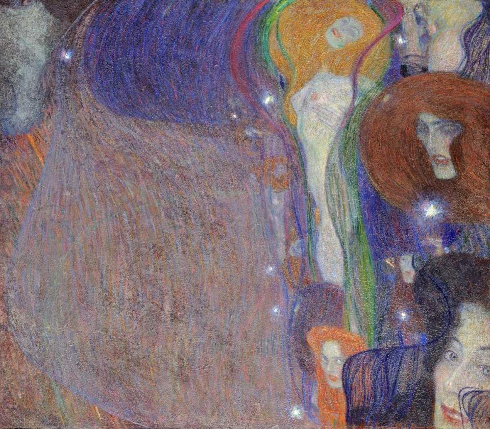 konfigurieren des Kunstdrucks in Wunschgröße Irrlichter - Will-O-The Wisps von Klimt, Gustav