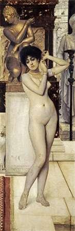 konfigurieren des Kunstdrucks in Wunschgröße Skigge Und Eingelstudie Fur Die Allegorie Der Skulptur von Klimt, Gustav