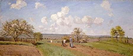 konfigurieren des Kunstdrucks in Wunschgröße Spring von Pissarro, Camille