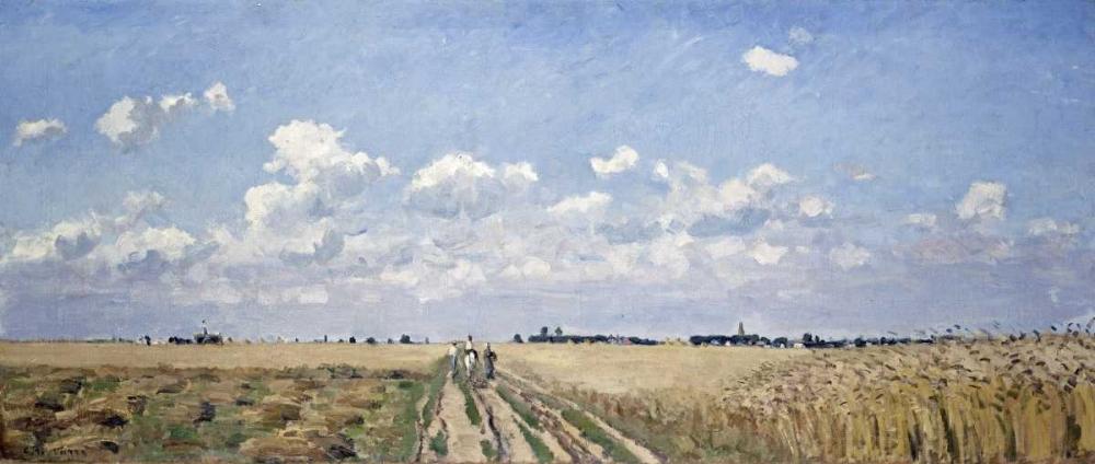 konfigurieren des Kunstdrucks in Wunschgröße Summer von Pissarro, Camille