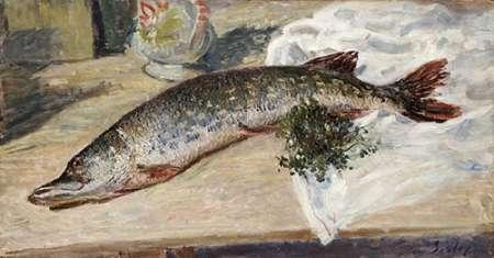 konfigurieren des Kunstdrucks in Wunschgröße The Pike von Sisley, Alfred