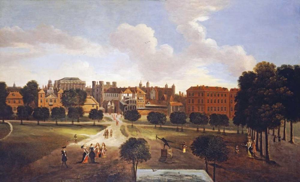 konfigurieren des Kunstdrucks in Wunschgröße A View of Old Horse Guards Parade von Einzelbilder