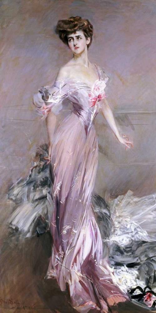 konfigurieren des Kunstdrucks in Wunschgröße Portrait of Mrs. Howard-Johnston von Boldini, Giovanni