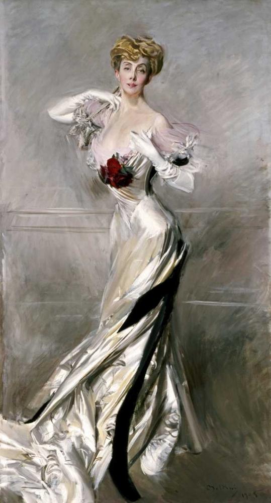 konfigurieren des Kunstdrucks in Wunschgröße Portrait of The Countess Zichy von Boldini, Giovanni