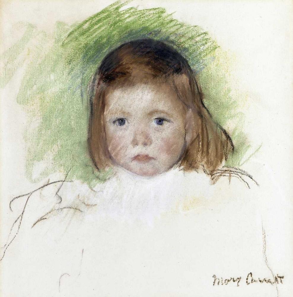 konfigurieren des Kunstdrucks in Wunschgröße Portrait of Ellen Mary Cassatt von Cassatt, Mary