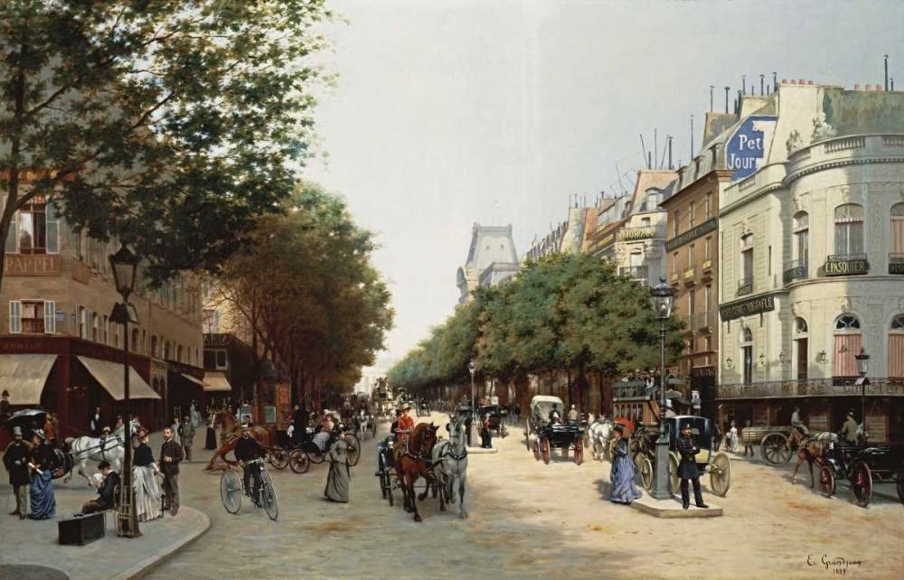 Grandjean, Edmond Georges