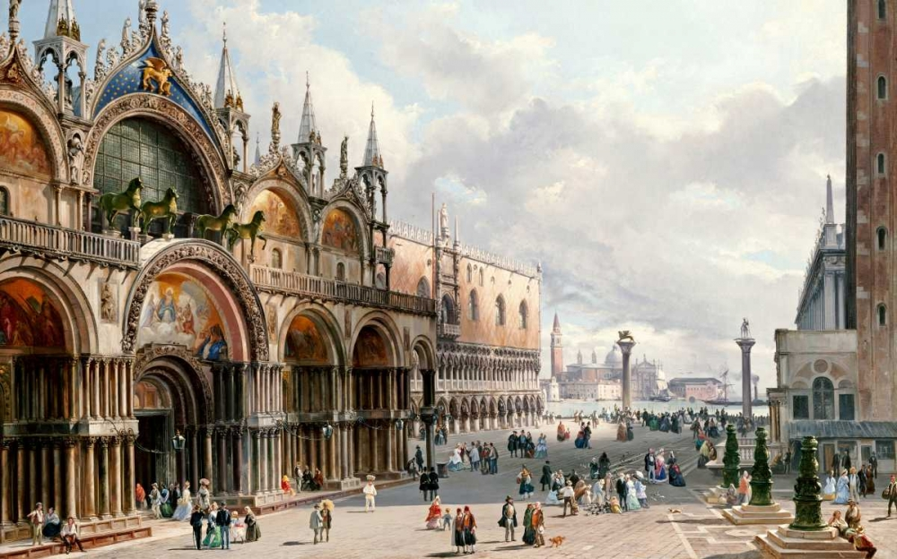 St. Marks and The Doges Palace, Venice von Einzelbilder <br> max. 193 x 119cm <br> Preis: ab 10€