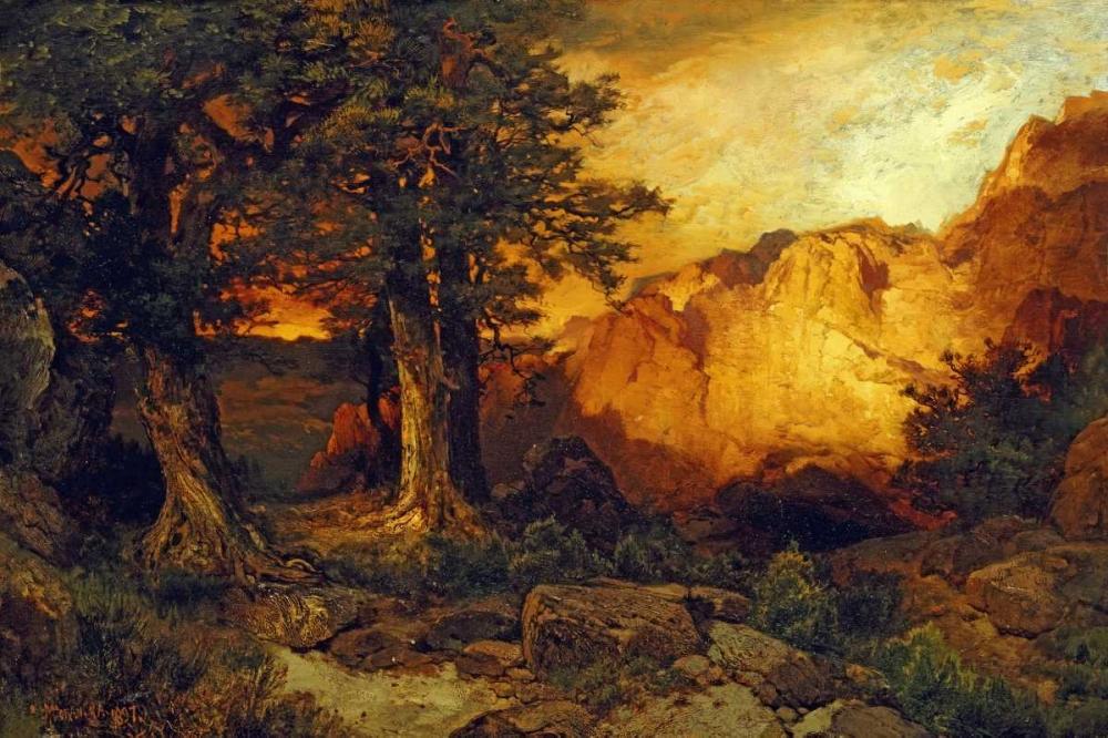 konfigurieren des Kunstdrucks in Wunschgröße The Grand Canyon von Moran, Thomas