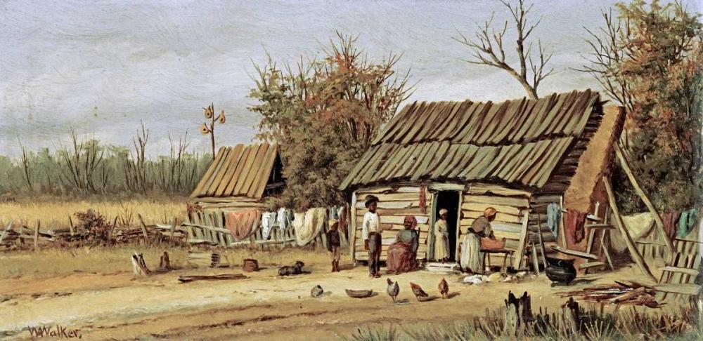 Daily Chores von Walker, William Aiken <br> max. 109 x 53cm <br> Preis: ab 10€