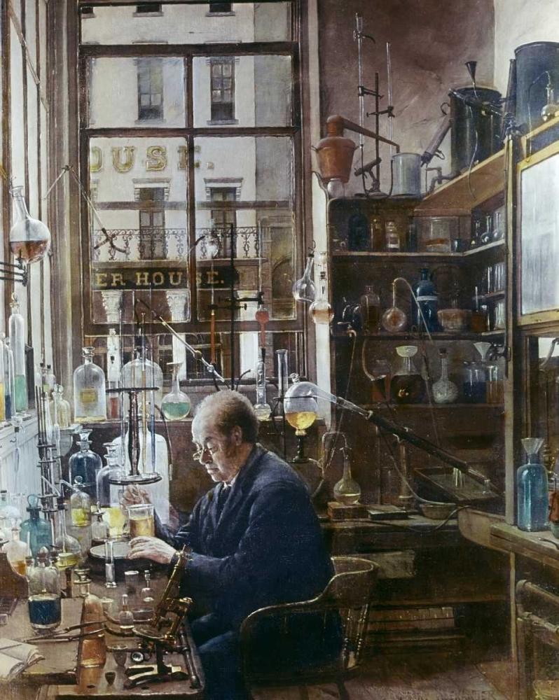 konfigurieren des Kunstdrucks in Wunschgröße Laboratory of Thos Price von Einzelbilder