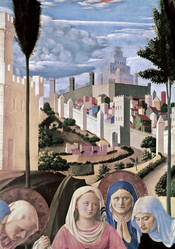 konfigurieren des Kunstdrucks in Wunschgröße Deposition - Detail 3 von Angelico, Fra
