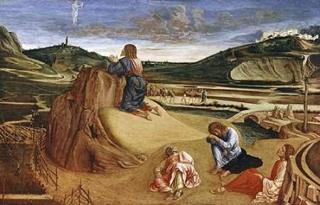 konfigurieren des Kunstdrucks in Wunschgröße Agony In The Garden von Bellini, Giovanni