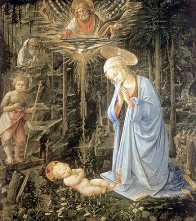 konfigurieren des Kunstdrucks in Wunschgröße Madonna and Child With Saint Jerome von Bellini, Giovanni