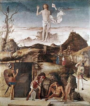 konfigurieren des Kunstdrucks in Wunschgröße Resurrection of Museumist von Bellini, Giovanni