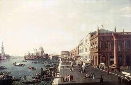 konfigurieren des Kunstdrucks in Wunschgröße View of Molo In Venice #1 von Bellotto, Bernardo