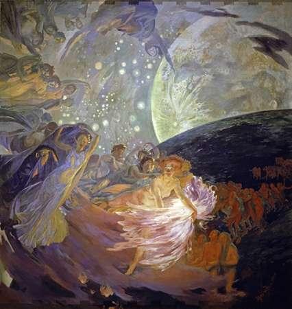 konfigurieren des Kunstdrucks in Wunschgröße Truth Drives the Sciences von Besnard, Albert