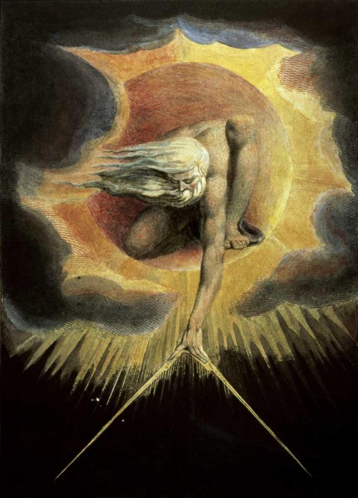 konfigurieren des Kunstdrucks in Wunschgröße The Ancient of Days von Blake, William