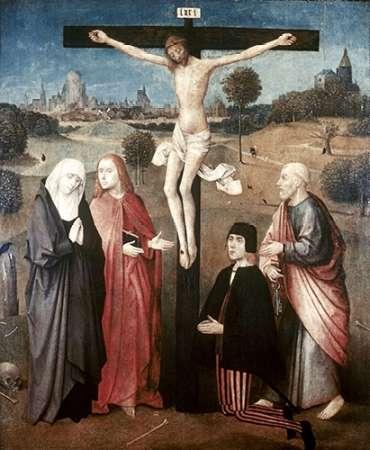 konfigurieren des Kunstdrucks in Wunschgröße Crucifixion von Bosch, Hieronymus