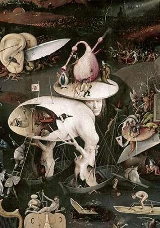 konfigurieren des Kunstdrucks in Wunschgröße Garden of Earthly Delights - Detail #8 von Bosch, Hieronymus