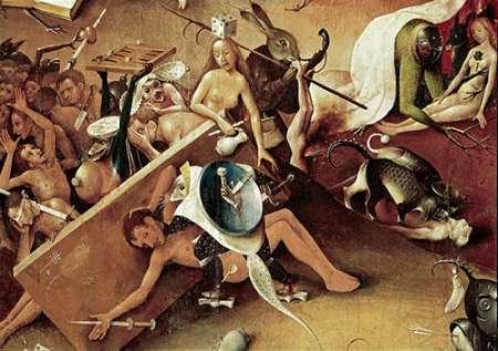 konfigurieren des Kunstdrucks in Wunschgröße Garden of Earthly Delights - Detail #9 von Bosch, Hieronymus