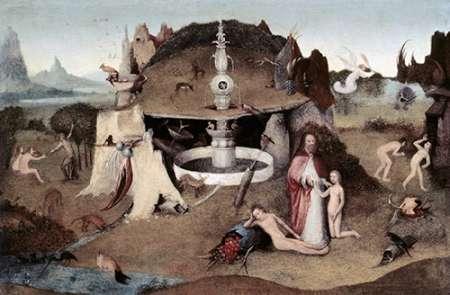 konfigurieren des Kunstdrucks in Wunschgröße Garden of Paradise von Bosch, Hieronymus