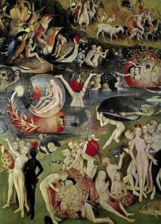 konfigurieren des Kunstdrucks in Wunschgröße The Garden of Earthly Delights (Detail) von Bosch, Hieronymus