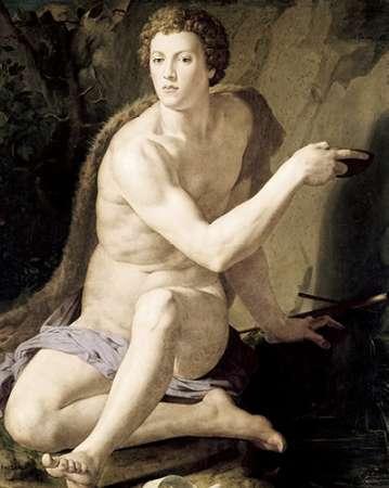 konfigurieren des Kunstdrucks in Wunschgröße St. John The Baptist von Bronzino, Agnolo
