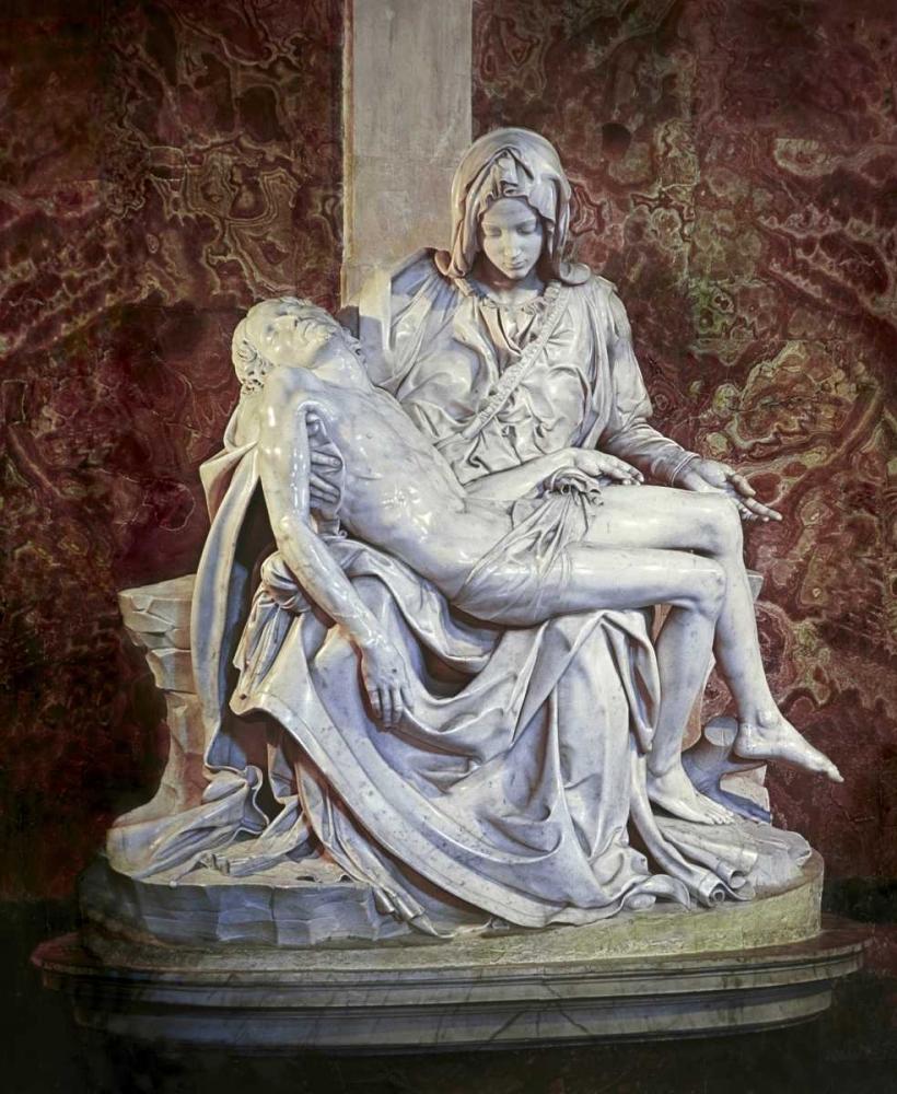 konfigurieren des Kunstdrucks in Wunschgröße Pieta von Michelangelo