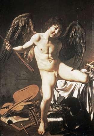 konfigurieren des Kunstdrucks in Wunschgröße Amour Victorious von Caravaggio