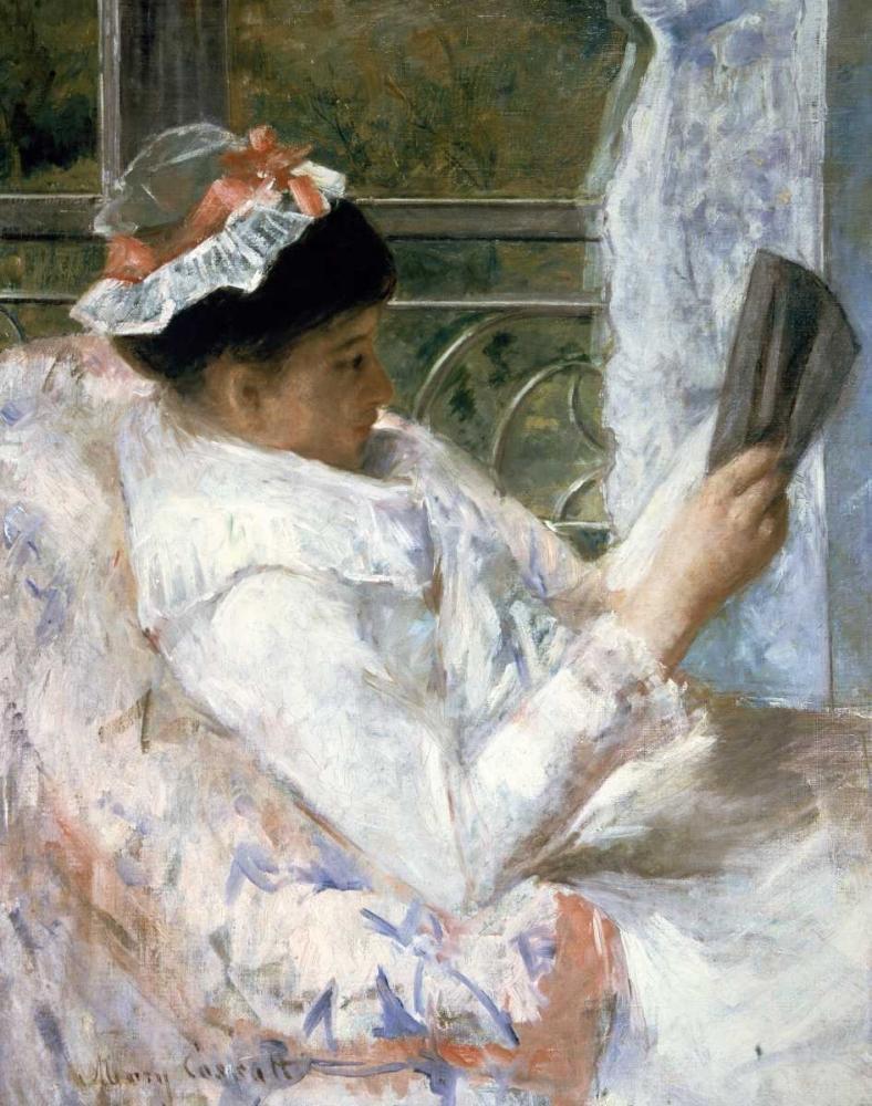 konfigurieren des Kunstdrucks in Wunschgröße The Reader von Cassatt, Mary