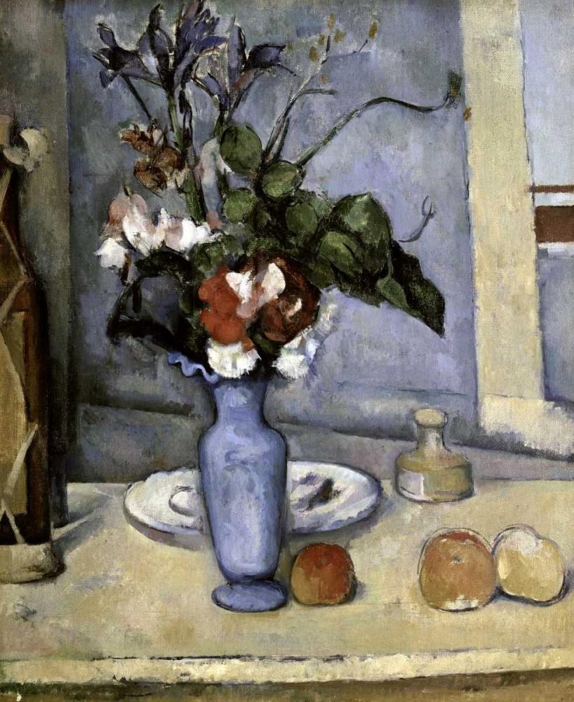 konfigurieren des Kunstdrucks in Wunschgröße Blue Vase von Cezanne, Paul