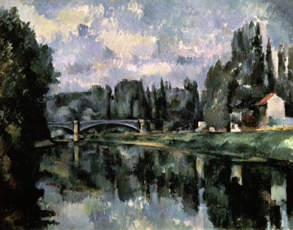 Bridge Over the Marne at Creteil von Cezanne, Paul <br> max. 99 x 79cm <br> Preis: ab 10€