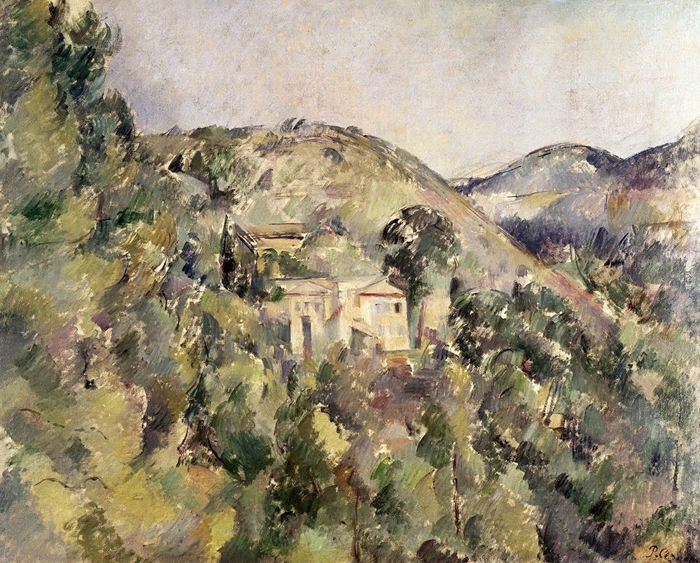 konfigurieren des Kunstdrucks in Wunschgröße La Collines Des Pauvres von Cezanne, Paul