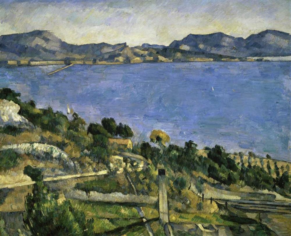 konfigurieren des Kunstdrucks in Wunschgröße LEstaque von Cezanne, Paul