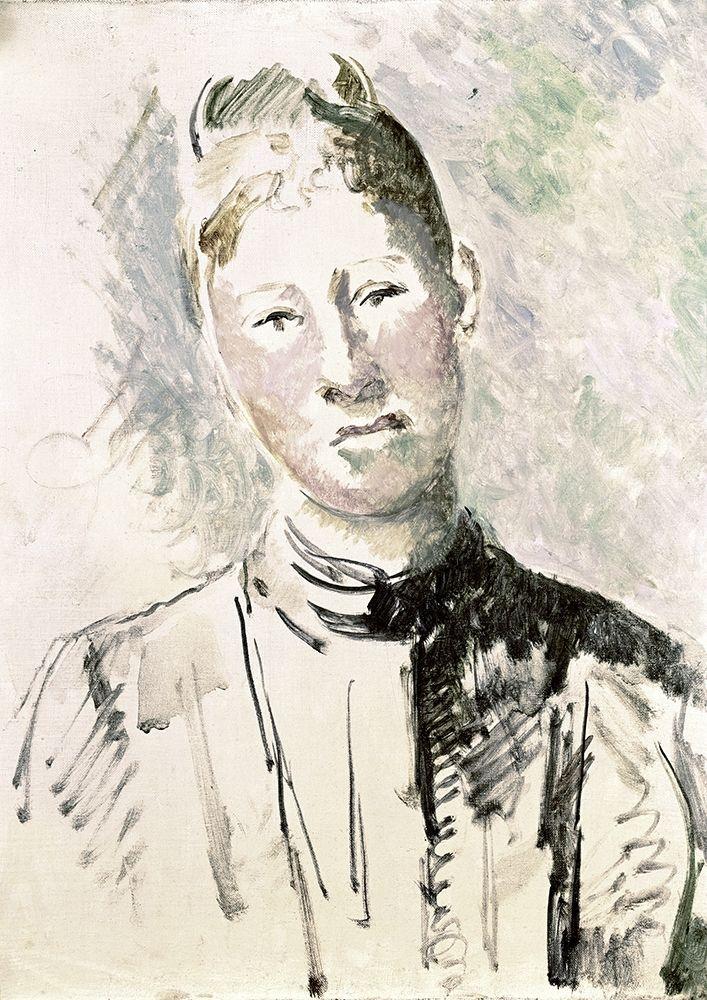 konfigurieren des Kunstdrucks in Wunschgröße Madame Cezanne von Cezanne, Paul