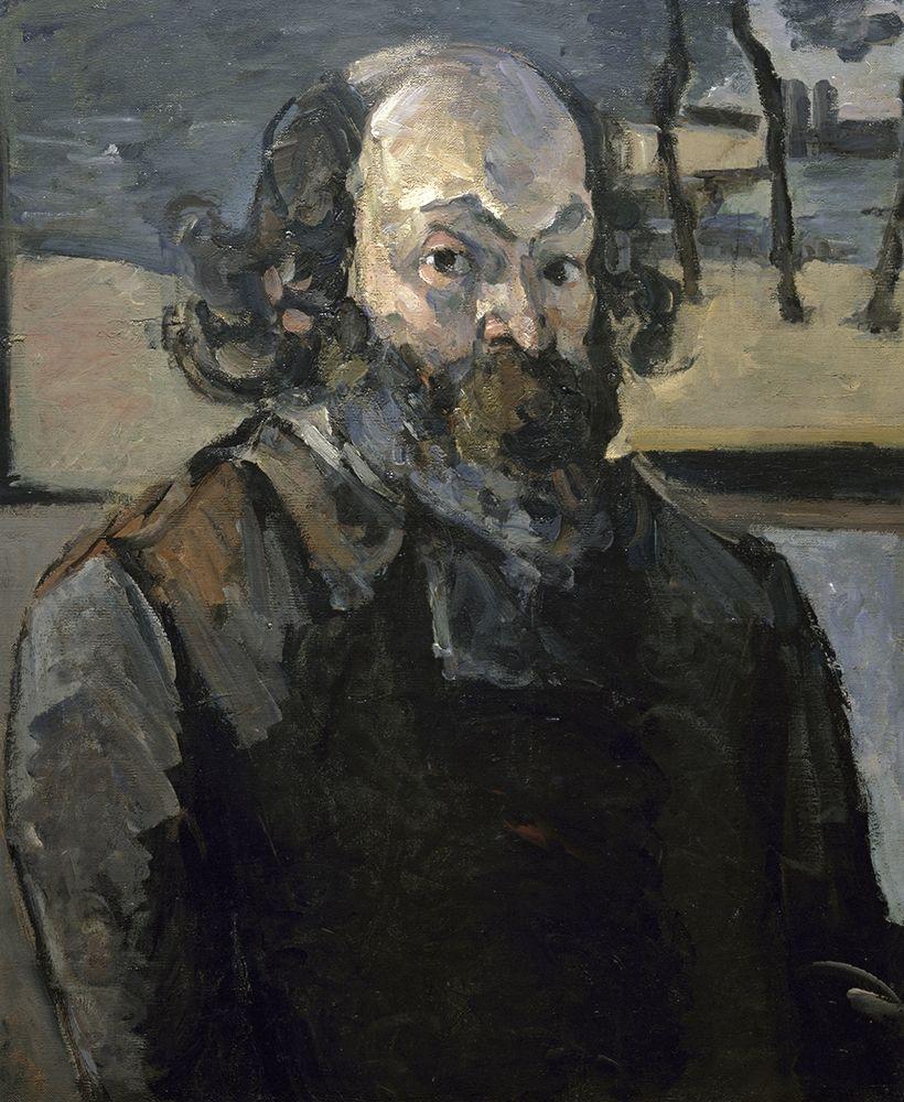konfigurieren des Kunstdrucks in Wunschgröße Portrait of The Artist von Cezanne, Paul
