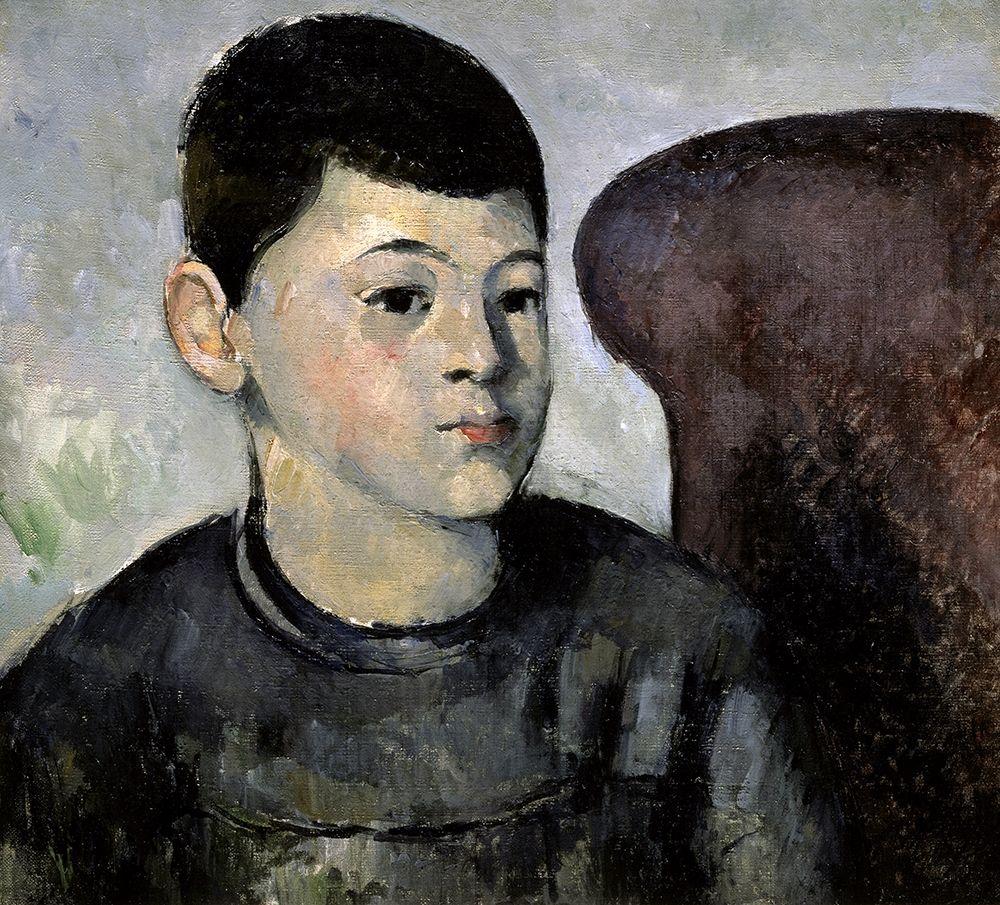 konfigurieren des Kunstdrucks in Wunschgröße Portrait of the Artists Son von Cezanne, Paul