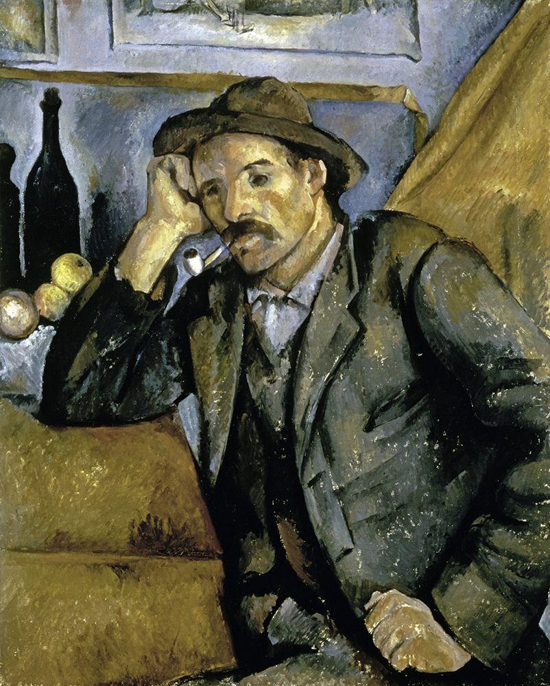 konfigurieren des Kunstdrucks in Wunschgröße Smoker von Cezanne, Paul