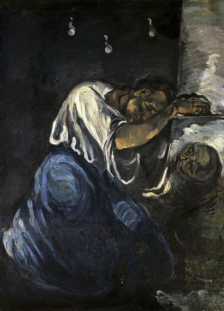 konfigurieren des Kunstdrucks in Wunschgröße The Magdalen Or Sorrow von Cezanne, Paul