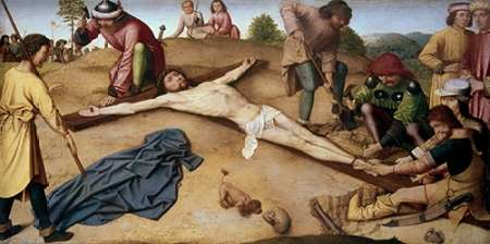 konfigurieren des Kunstdrucks in Wunschgröße Museumist Nailed To The Cross von David, Jacques-Louis