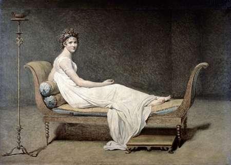 konfigurieren des Kunstdrucks in Wunschgröße Portrait of Mrs. Recamier von David, Jacques-Louis