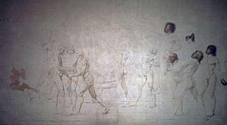 konfigurieren des Kunstdrucks in Wunschgröße Serment Du Jeu De Paume von David, Jacques-Louis